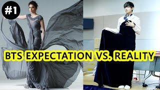 BTS Try Not To Laugh Challenge - EXPECTATION Vs REALITY P.1 (방탄소년단)
