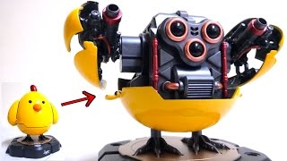 Wazzup Family Q-Mech Aggy wotafa's Gokin Toy review