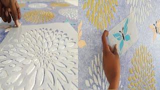 Wall fashion texture design ideas for interior