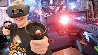 The Power of Presence in Virtual Reality (First Contact on Oculus Quest)