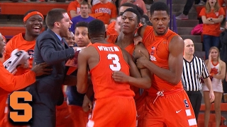 Syracuse's Tyus Battle: Game-Winning Buzzer Beater vs. Clemson