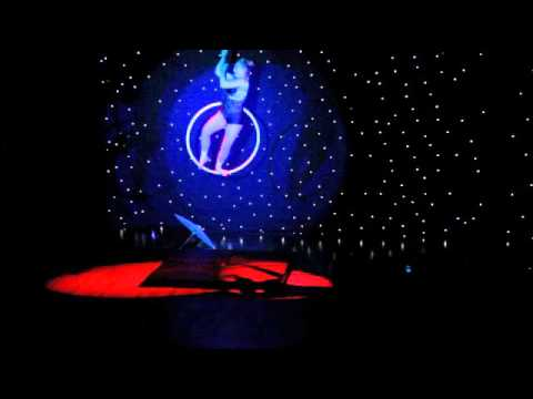 Bex Campey Aerial Hoop Japan Routine Blush Showcase 2015