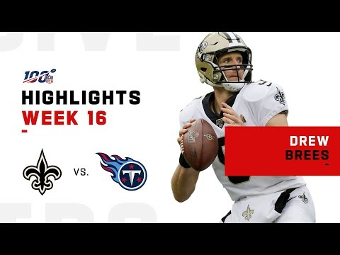 Drew Brees Leads Saints to Victory | NFL 2019