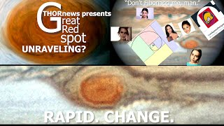 Jupiter's Great Red Spot is Unraveling!?! The whole solar system is undergoing rapid change.