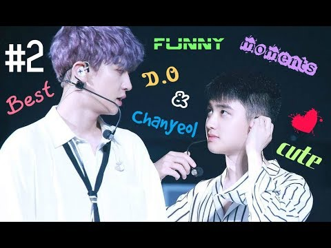 EXO | BEST FUNNY & CUTE MOMENTS | D.O & CHANYEOL #2