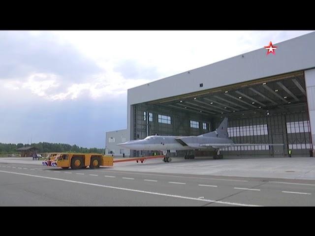В Казани выкатили первый модернизированный Ту-22М3М