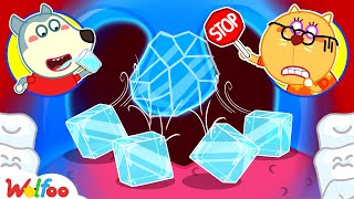 No No, Wolfoo! Don't Drink a Lot of Ice Water! - Learn Healthy Habits for Kids   Wolfoo Channel