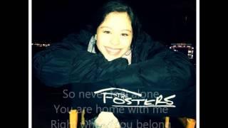 Kari Kimmel - Where You Belong (The Fosters Lyric Video)