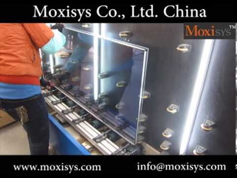 assemble aluminum spacer - insulating glass machine