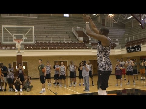 Kevin Durant's Deadly Elbow Shooting Drill