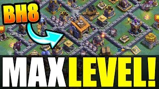"NEW ""MAX BUILDERS HALL 8"" BASE! - Clash Of Clans ALL MAX UPGRADES LEAKED!"