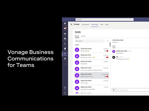 See how Vonage Business Communications for Microsoft Teams is powering voice and collaboration for businesses around the world.