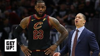 Ty Lue is a better fit to coach LeBron and the Lakers than Monty Williams - Jalen Rose | Get Up!