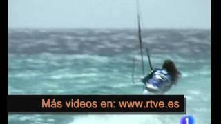 Gisela pulido y el kitesurf