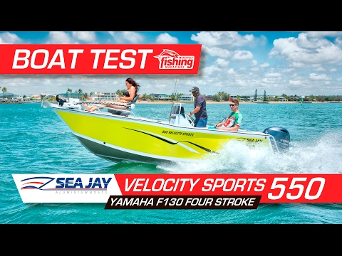 550 Velocity Sports - Sea Jay Boats
