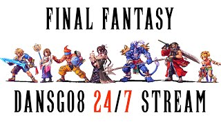 24/7 Final Fantasy Community Gaming Stream - FF8-9-10-12-13-15 Walkthroughs By Dansg08 - Description