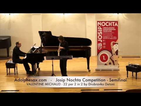 JOSIP NOCHTA COMPETITION VALENTINE MICHAUD 22 per 2 in 2 by Drubravko Detoni