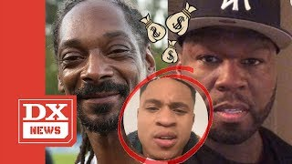 "Snoop Dogg Offers To Pay 50 Cent The $300,000 Dollars Owed To Him By ""Power"" Co-Star Rotimi"