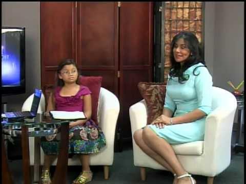 Nancy Ramirez, su hija & Doris Molinar Programa Jesus te Ama. Houston TX