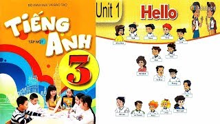 Tiếng anh lớp 3 (tập 1) Bộ GD ĐT║Gia sư Tiến Trần Maya║ Unit 1: Hello
