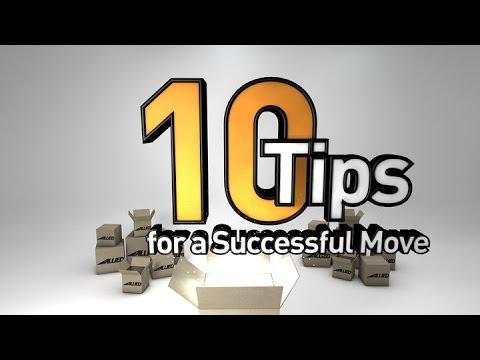 Top 10 Moving Tips by Allied Van Lines