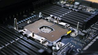 The most insane motherboard I've ever seen... ASUS ROG Dominus W3175X