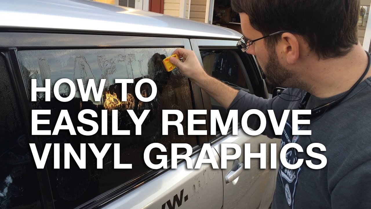 how to remove vinyl lettering how to easily remove vinyl graphics and stickers from your 4717