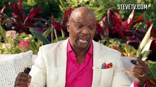 Terry Crews Draws A Spot-On Cartoon Of Steve Harvey In Only A Few Minutes