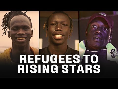 From refugees to rising stars | The inspirational VFL baller, rapper & AFL mentor