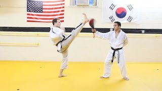 TAEKWONDO CRESCENT KICK TUTORIAL