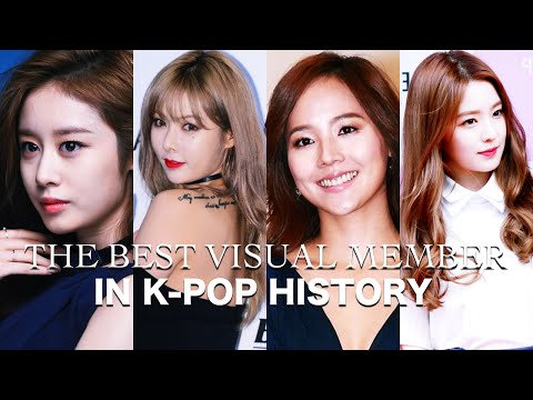 ☆ The Best Girl Group Visual Member in K-Pop History