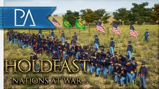 American Civil War on Holdfast: Nations at War! - Huge Multiplayer Modded Event!