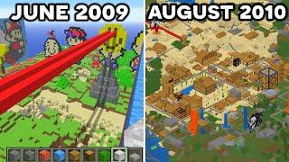 Exploring the 5 OLDEST Minecraft Servers...