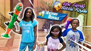 Epic Family Battle Royale Before Going To Bed For School!
