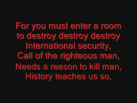 System of a Down - War? Lyrics