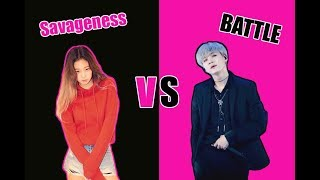 Savageness Battle (Yoonie) | BlackBangtan Battle Part 2| Ships Edition