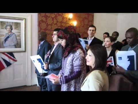 The UK Citizenship Ceremony - Southwark Registery Office June 2012 - Elgar Enigma Nimrod