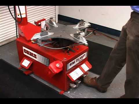 Tire Changers Coats Model 5040 Rim Clamp Tire Changer