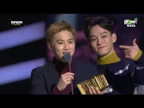 [VIETSUB] EXO CUT MAMA 2015 (EXO - BEST ASIAN STYLE & GLOBAL FANS' CHOICE MALE & BEST MALE GROUP)
