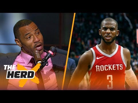 Kenyon Martin on why NBA players don't like Chris Paul, Picks Warriors over Rockets | NBA | THE HERD