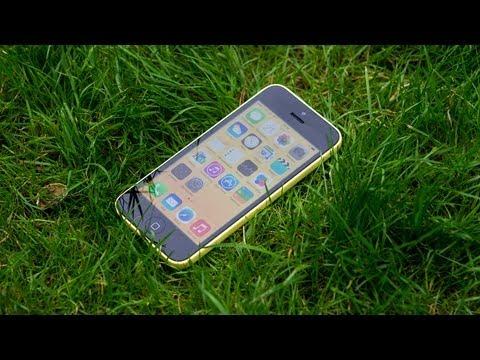 iPhone 5C: распаковка