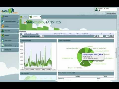 Complete Overview of the eMagStudio Statistics Module