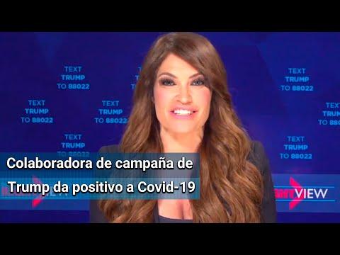 Kimberly, novia de Donald Trump Jr., da positivo a Covid-19