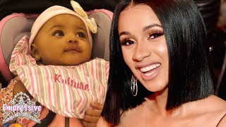 Cardi B reveals her baby girl Kulture! (ADORABLE)