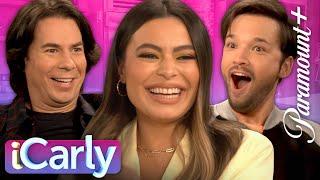 Full iCarly Cast Reunion!   Miranda Cosgrove, Jerry Trainor, Nathan Kress, + More Return