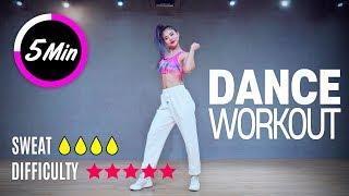 [Dance Workout] 5 Minute Cardio Dance Workout Routine | MYLEE Dance
