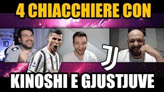 ‼️ Ultimo anno di Ronaldo alla Juventus? Credo di sì // 4 Chiacchiere con Kinoshi e GJustJuve
