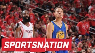 Baron Davis, Carlos Boozer debate Warriors and Rockets | SportsNation | ESPN