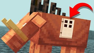 How to LIVE inside a HOGLIN in Minecraft 1.16 Update