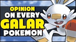 My Opinions On ALL New Pokemon in Sword and Shield